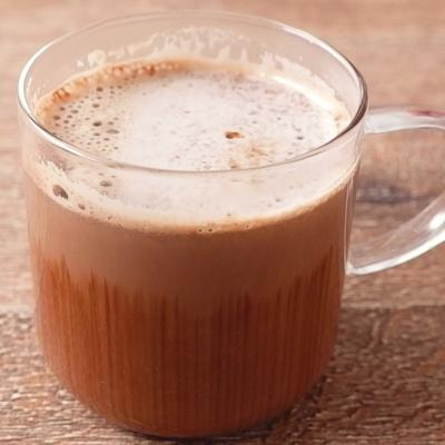 豆乳で作るカフェモカ風ホットドリンク