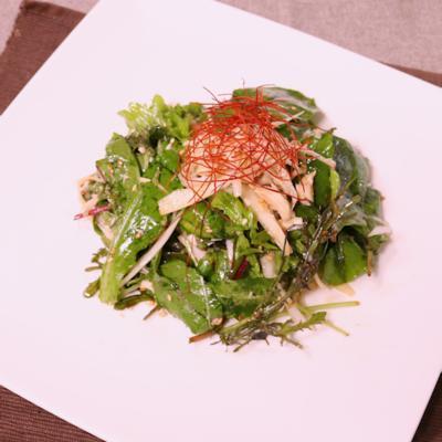 ささみの中華風サラダ
