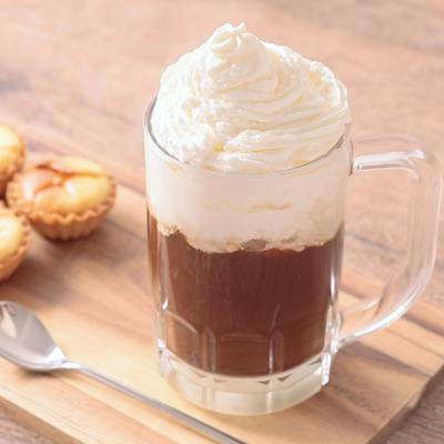 3層がかわいい ウインナーアイスコーヒー
