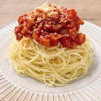 レンコンたっぷり ミートスパゲティ