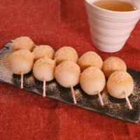 豆腐でなめらか きな粉餅