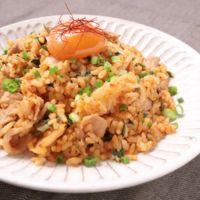 豚肉と卵のキムチチャーハン
