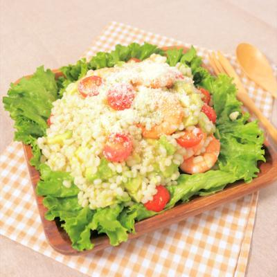 ぷちぷち食感 もち麦アボカドサラダ