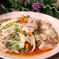 余った野菜で簡単!豚肉と野菜の重ね蒸し