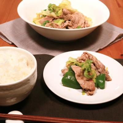 豚こま切れ肉でうま辛回鍋肉