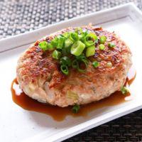 ふんわり柔らかい豆腐ハンバーグ