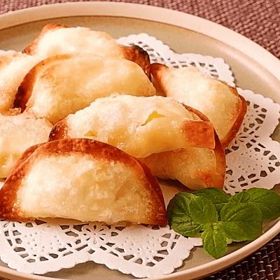 餃子の皮で作る 簡単パイナップルパイ