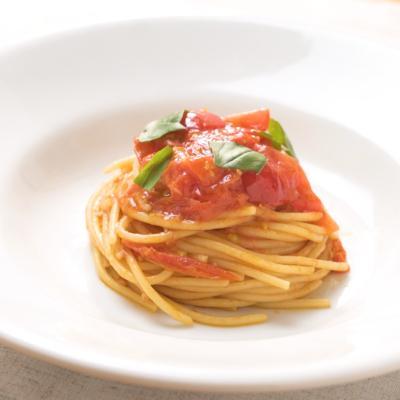 【弓削シェフ】フレッシュトマトのパスタ