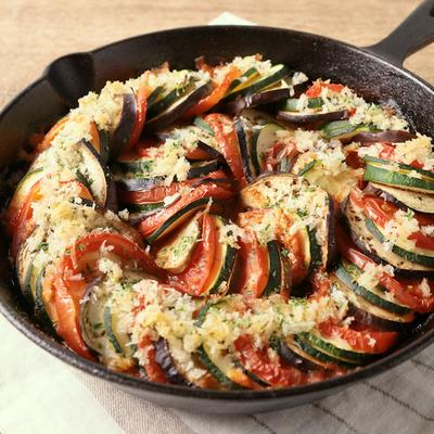 夏野菜のオーブン焼きラタトゥイユ