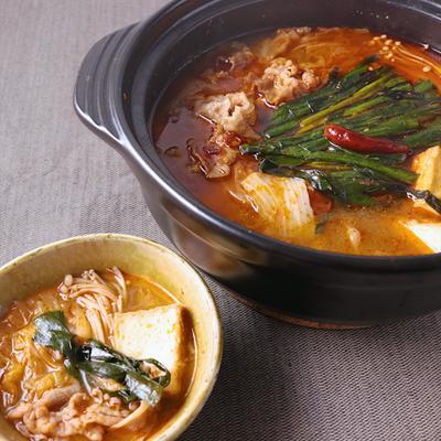 牛肉と白菜の四川風鍋