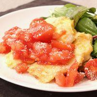 トマトの酸味がおいしい!鶏むね肉のピカタ