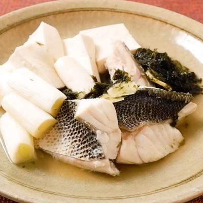 白身魚と豆腐のマース煮風