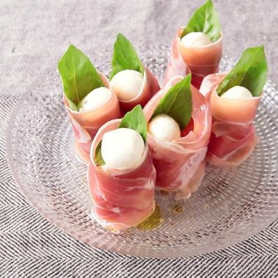 すいかのミニ前菜サラダ