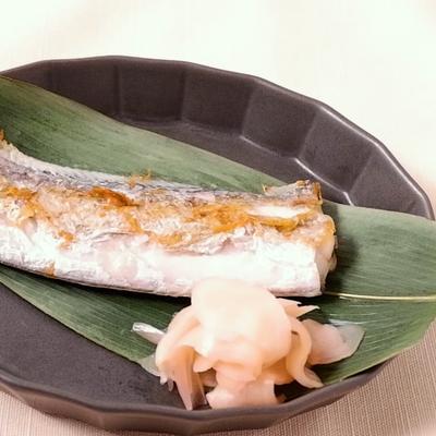 フライパンで作る 太刀魚の塩焼き