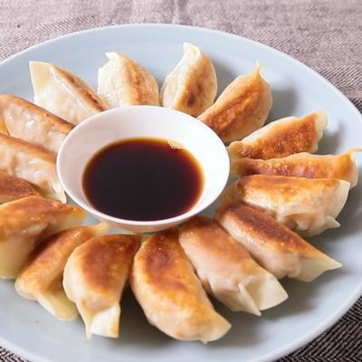 レンコン海老餃子