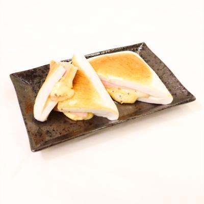 ハムチーズのはんぺんサンド