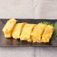 マヨネーズで簡単 じゃことチーズの卵焼き
