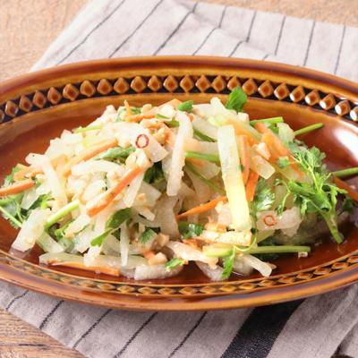 ライム香る 冬瓜のタイ風サラダ