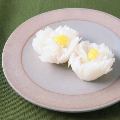 ゆず風味の菊花かぶ