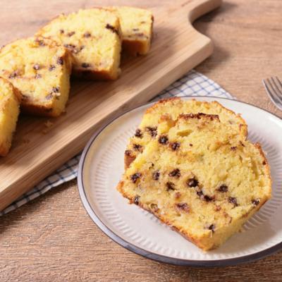 バナナチョコチップパウンドケーキ