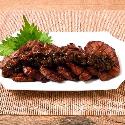 ピリ辛南蛮味噌の牛タン焼き