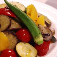 焼き夏野菜のサラダ