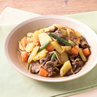 野菜の甘みを楽しむ アフリカ風肉じゃが