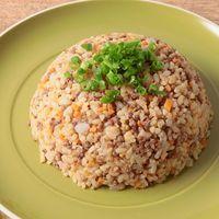 ひき肉たっぷり 玄米チャーハン