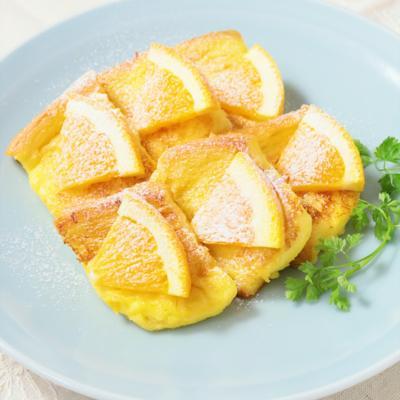 甘酸っぱい オレンジフレンチトースト