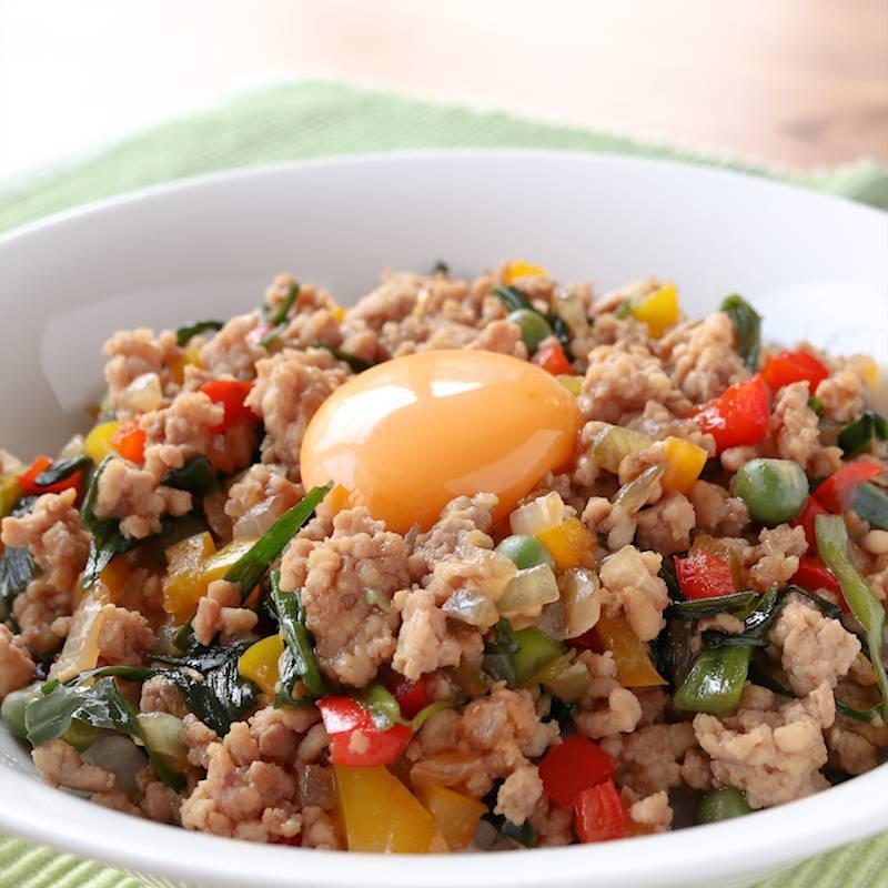 レシピ 鶏肉 ミンチ キーマカレー(鶏ひき肉のカレー) ハリ