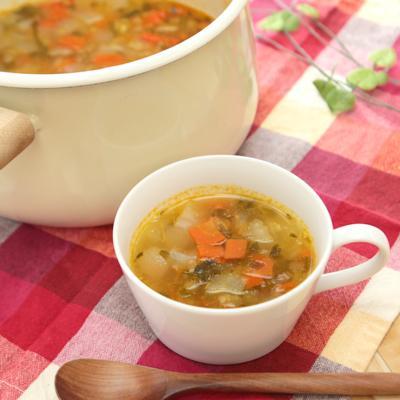 優しい味 たっぷり野菜の塩スープ