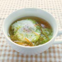 落とし卵のスープ