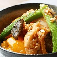 鶏ささみと野菜の香味南蛮漬け