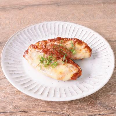 ピリ辛 なすの味噌チーズ焼き