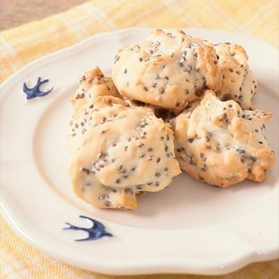 チアシードのメープルクッキー