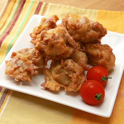 豚バラ肉と紅生姜のふわふわ揚げ