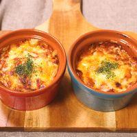 オイルサーディンでとろーりチーズ焼き
