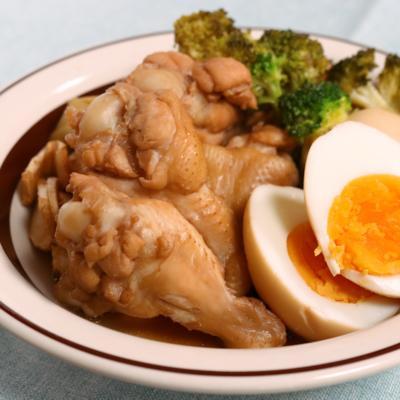 鶏手羽のやわらかポン酢煮