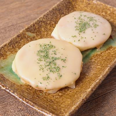 新玉ねぎの甘辛チーズ焼き