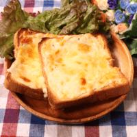 食パンで作る!なんちゃってクアトロフォルマッジ
