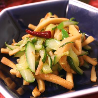 高野豆腐の中華風炒め