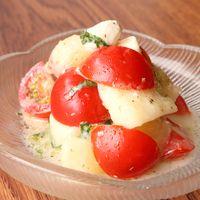 桃のクリームチーズサラダ