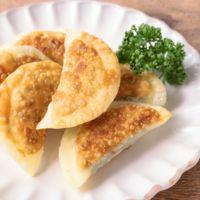 笹かまぼことクリームチーズの揚げ餃子風
