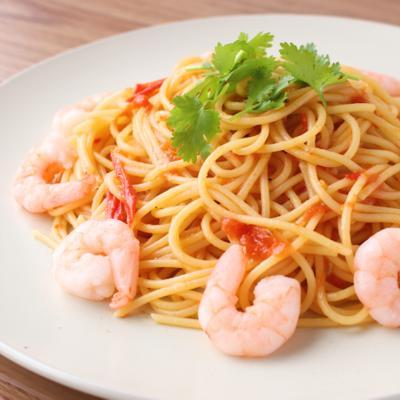 トマトのスイートチリスパゲティ