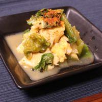 チンゲン菜の卵ナムル