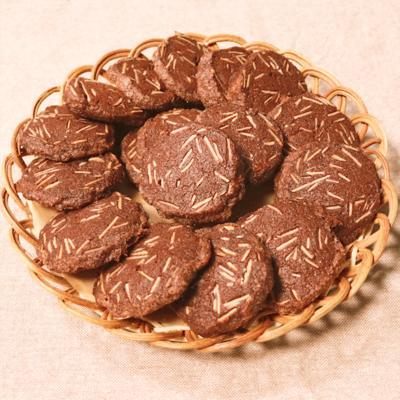 サックサク!ココアアーモンドクッキー