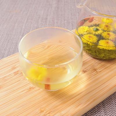 緑茶とブレント菊花茶