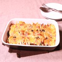 チーズたっぷり!ズッキーニとナスのグリル
