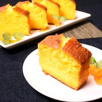 野菜を使ったお菓子 にんじんパウンドケーキ
