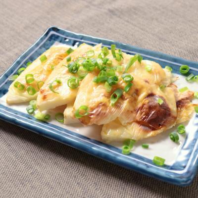 トースターで簡単 たけのこの味噌チーズ焼き
